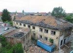 Ballsaal der Krautwaldfabrik vor Abriss
