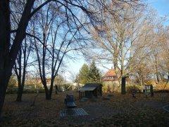 Dresden-Cotta ist geprägt von vielen Grünanlagen und öffentlichen Spielplätzen